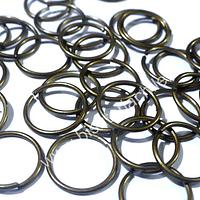 Set de argollas envejecidad de 15 mm, set de 30 unidades