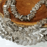 cristal gris en forma de triángulo, de 6 mm, tira de 98 cristales aprox