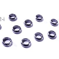 separador acero 5 mm de diámetro, 3 mm de ancho, agujero de 3mm, set de 10 unidades