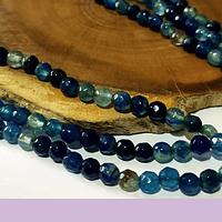 Agatas, Agata de 4 mm, en tonos calipsos 95 piedras aprox