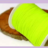 Tripolino de 0,5 mm color amarillo neón, rollo de 50 metros