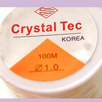 Elástico silicona 1.0 rollo de 100 mts aprox