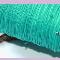 Tripolino de 0,5 mm color verde mermaid rollo de 50 metros