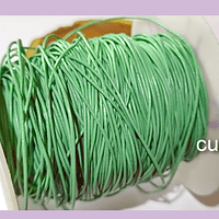 Cuero verde jade, de 1 mm, por metro