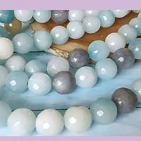 Agatas, Piedra Agata de 10 mm, tira de 38 piedras aprox