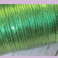 Cola de ratón verde, rollo de 100 yadas, 2 mm de grosor