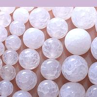 Jade blanco de 6 mm, tira de 63 piedras aprox.