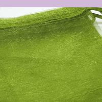 Bolsa organza color verde musgo de 12 x 14 set de 10 unidades