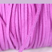 Gamuza de 3 mm en color fucsia, por metro