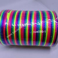 Cola de ratón matizado, rollo de 100 mts, 2 mm de grosor.