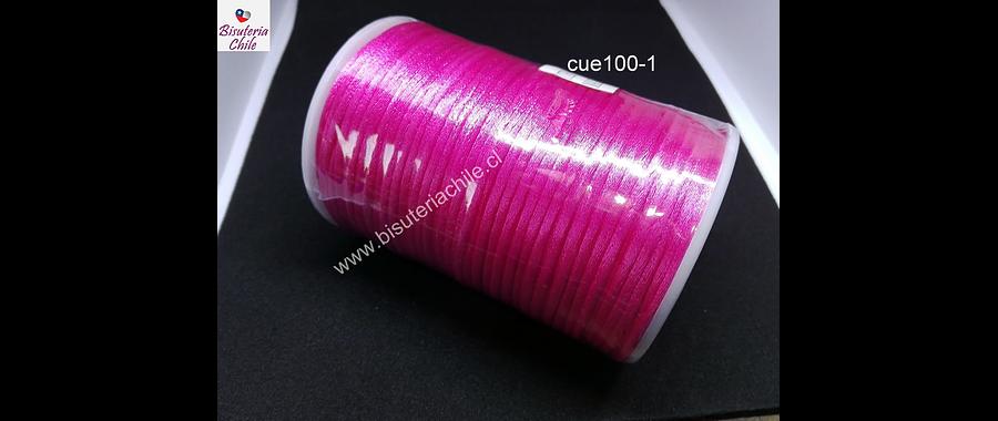 Cola de ratón rosado, rollo de 100 mts, 2 mm de grosor.