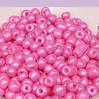Mostacillón rosa fuerte, bolsa de 50 grs (6/0)
