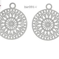 Base de acero, 22 x 18 mm, por par