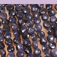 Piedra estrella en forma de chubi facetada, de 6 mm, set de 28 unidades