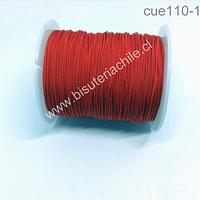 Tripolino de 0,5 mm color rojo, rollo de 50 metros