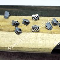 Terminal de apriete de acero, 6 x 5 mm, set de 10 unidades