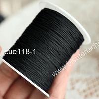 Tripolino de 0,5 mm color negro rollo de 50 metros