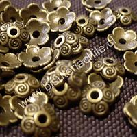 Casquete envejecido 7 mm de diámetro, set de 48 unidades