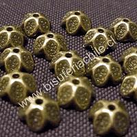 Casquete envejecido 9 mm de diámetro set de 18 unidades