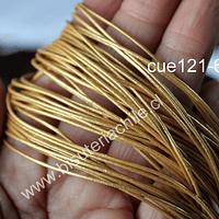 Cuero dorado de 1 mm, por metro