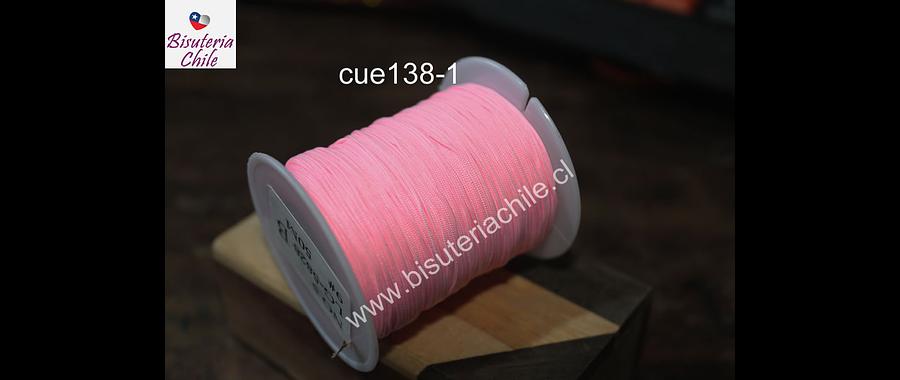 Tripolino de 0,5 mm color rosado rollo de 50 metros