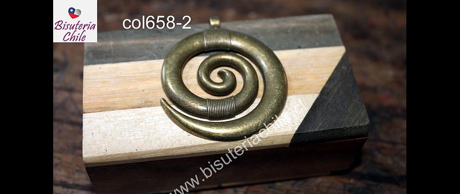 Colgante envejecido 45 mm de diámetro, por unidad