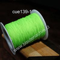 Tripolino de 0,5 mm color verde limón rollo de 50 metros