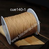 Tripolino de 0,5 mm color cafe claro rollo de 50 metros
