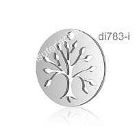 Colgante con árbol de la vida, 15,7 mm de diámetro, por unidad