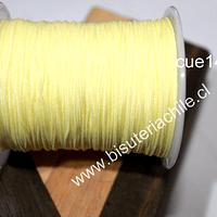 Tripolino de 0,5 mm color amarillo claro, rollo de 50 metros