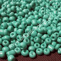 Mostacillón color turqueza, bolsa de 50 grs