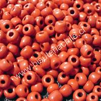 Mostacillón rojo, bolsa de 50 grs (6/0)