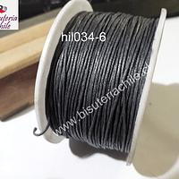 Hilo de algodón gris, 1 mm, carrete de 70 mts