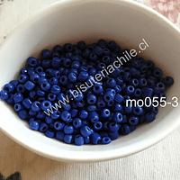 Mostacillón azul encendido, bolsa de 50 grs
