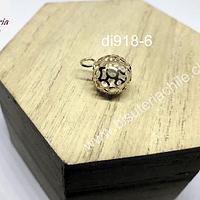 Atrapa Amgeles, con cristal interior, 12 mm de diámetro, por unidad