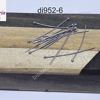 Vástago de acero punta de bola, 30 mm de largo, set de 20 unidades