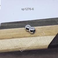 Cierre magnético, 15 mm de ancho x 9 mm, agujero de 5 mm, por unidad