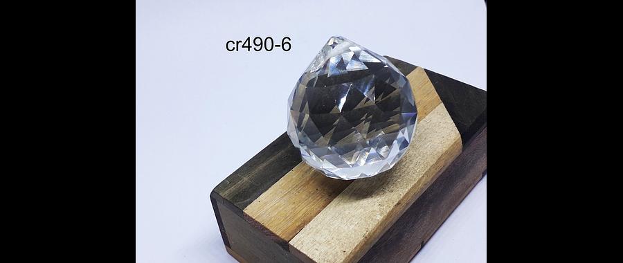 prisma feng-shui , 55 mm de alto x 50 mm de ancho, por unidad