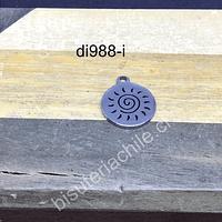 Dije sol celta, acero, de 12 mm, por unidad