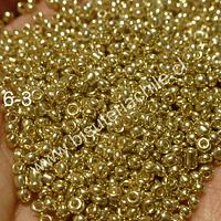 Mostacilla dorada en 2 mm, sobre de 20 grs