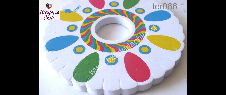 Telar kumihimo, 15 mm de diámetro