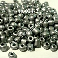 Mostacillón gris metálico, bolsa de 50 grs