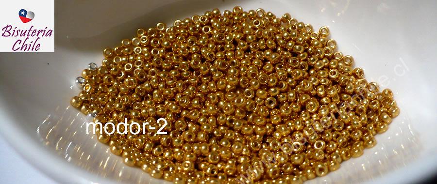 Mostacilla dorada calibrada, set de 10 grs.
