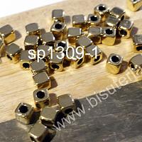 Separador dorado de 4 x 4 mm, set de 25 unidades