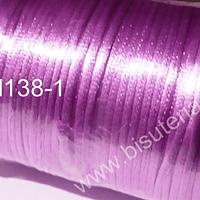 Cola de ratón lila rollo de 100 yardas, 2 mm de grosor.