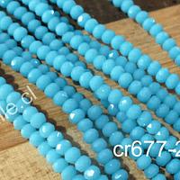 Cristales en color celeste de 2 mm, tira de 190 cristales