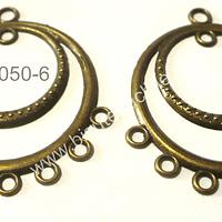 Base de aro envejecido 35 mm de diámetro, el par