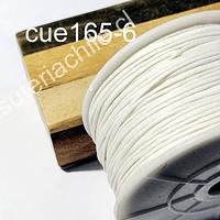 Hilo de algodón blanco, 1 mm, carrete de 70 mts