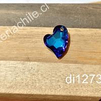 Cristal excelente calidad austriaco, 17 mm de largo x 13 mm de ancho, por unidad