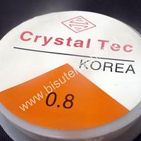 Elástico silicona 0.8 rollo de 100 mts aprox